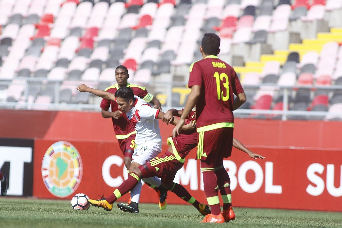 Venezuela culminó en el quinto lugar del Suramericano Sub 17 en Chile