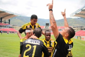 Táchira goleó a Estudiantes en el Clásico Andino