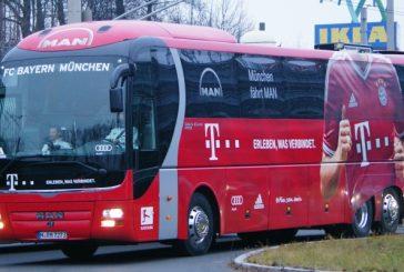 El Bayern de Múnich ya se encuentra en Madrid