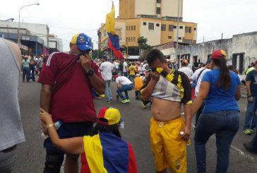 Más de un centenar de heridos y detenciones en Táchira