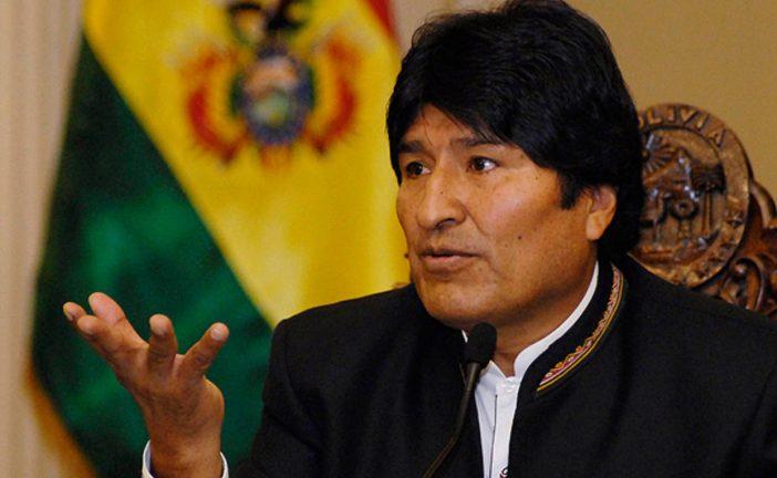 Morales llama a pueblos indígenas a combatir el capitalismo