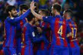 Un Barcelona inspirado arrolla al Osasuna y se mantiene líder