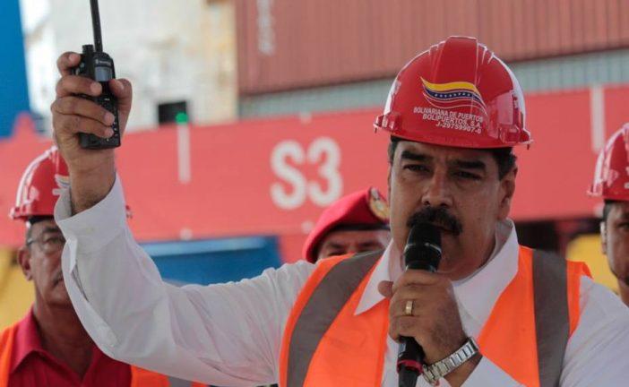 Maduro inauguró terminal de contenedores en el puerto de La Guaira