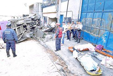 Accidente en Petare deja cinco muertos y 11 heridos