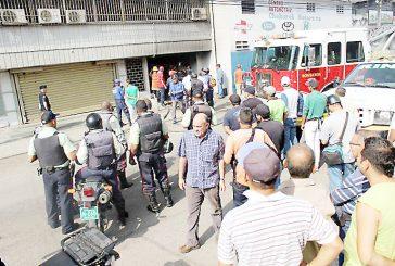 Incendio de camioneta encendió alarmas en Maracay