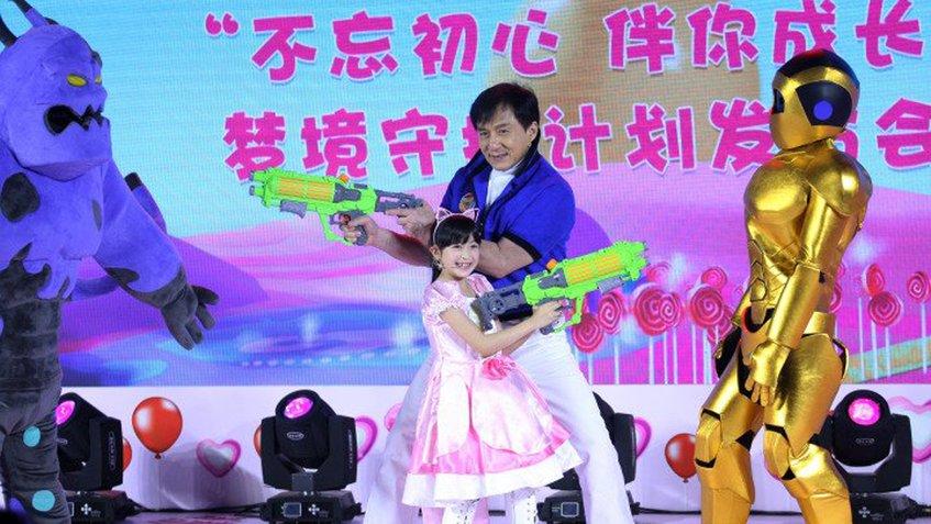 Jackie Chan ya tiene serie de dibujos animados propia