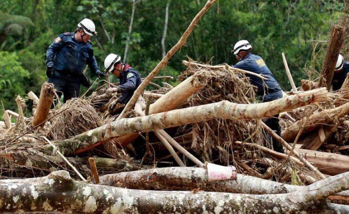 Colombia informó que 400 municipios están en alerta por deslizamientos