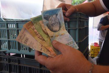 Billetes nuevos se  ven de a poquito