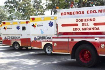 Bomberos de Miranda reforzarán puestos de atención vial para resguardo de los viajeros