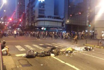 Atienden a 203 heridos  durante protestas