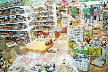 26 detenidos deja vandalismo en supermercado