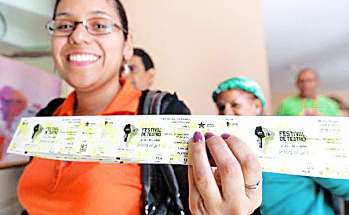 Diseñan portal para comprar entradas de Festival de Teatro