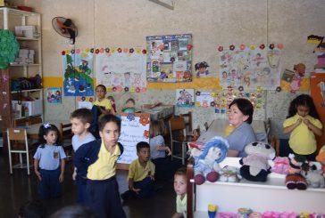 Victegui se alista para Semana  de la Educación Inicial