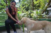 Yanett Rodríguez, el hada de los canes
