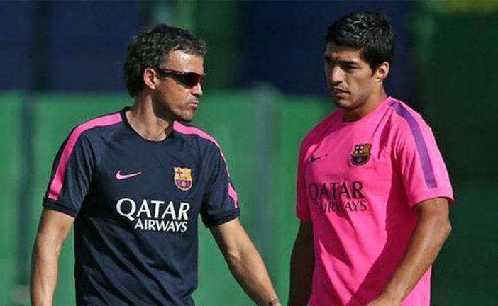 El técnico del Barcelona no está preocupado por falta de goles de Suárez