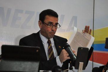 México, España y Paraguay expresaron su rechazo por inhabilitación de Capriles