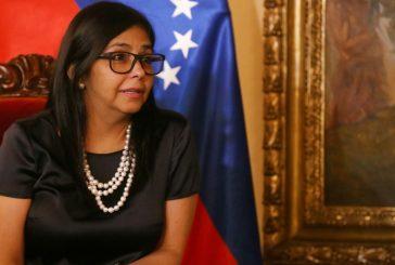 Delcy Rodríguez: Países que cuestionan a Venezuela no tienen moral