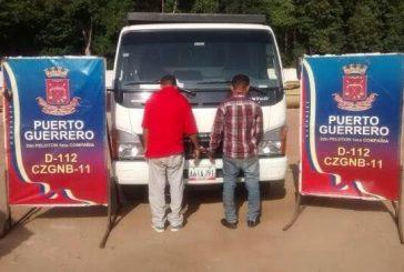 Encanados dos robacarros en La Güajira venezolana