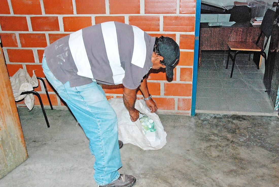 Actos de vandalismo en el  consultorio Ramo Verde