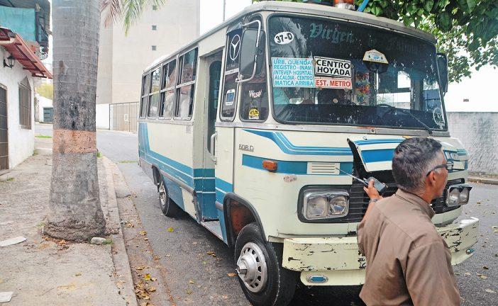 El servicio de transporte está complicado en residencias Quenda