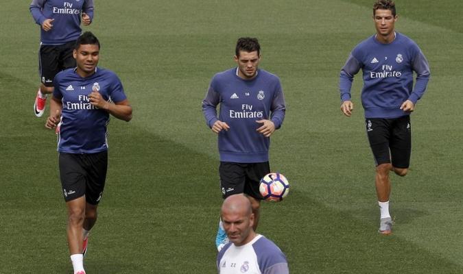 """Zidane: """"Estamos preparados para las dos finales de la Liga"""""""