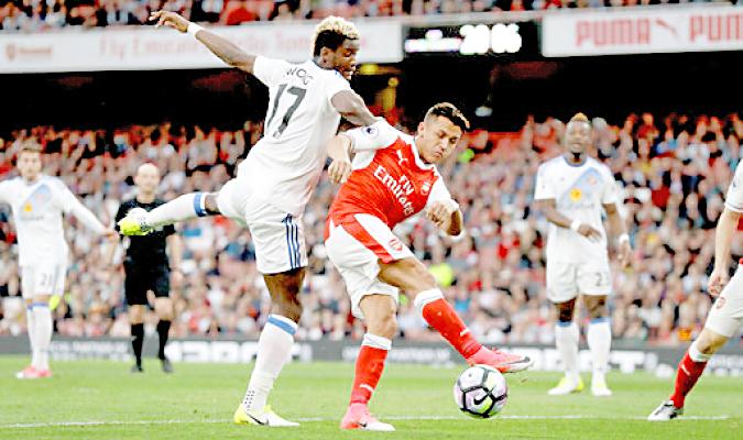 Arsenal ganó al Sunderland  con Alexis Sánchez