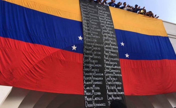 Cronología: 60 muertos en protestas en Venezuela hasta el 24 de mayo