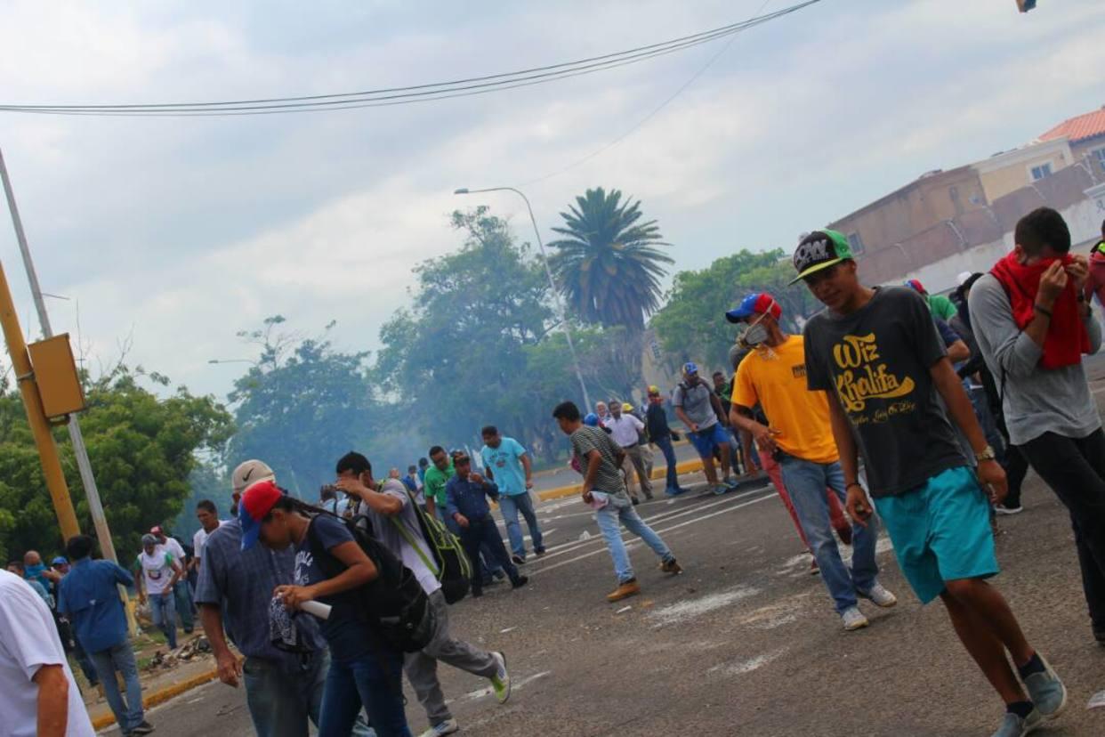 Murió miembro de la Cruz Verde durante protesta en Maracaibo