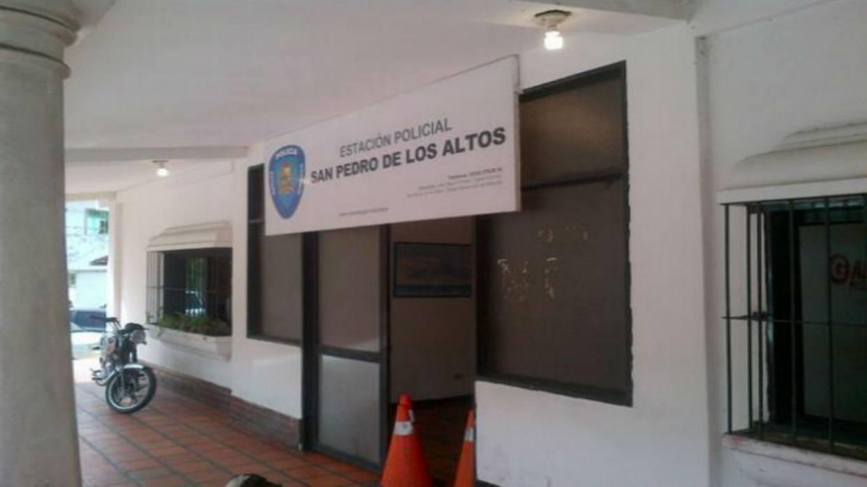 Atacaron sede de la Policía de Miranda en San Pedro de Los Altos