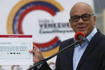 Jorge Rodríguez: La ANC propone el diálogo que requiere el país