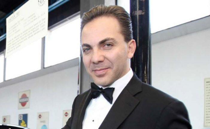 Cristian Castro ya se casó por el civil