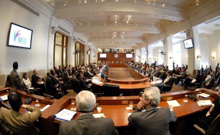 OEA preparará este miércoles la reunión de cancilleres sobre Venezuela