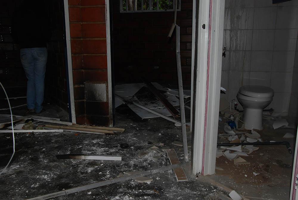 Ambulatorio Barrio Adentro de El Paso quedó destrozado