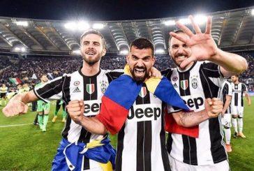 Tomás Rincón se tituló Campeón de la Copa Italia con la Juventus