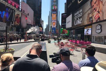 Auto embiste a peatones en Times Square: hay al menos un muerto y varios heridos