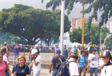 Un herido de bala durante protesta en Bello Monte