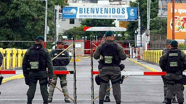 Restringen paso entre Venezuela y Colombia