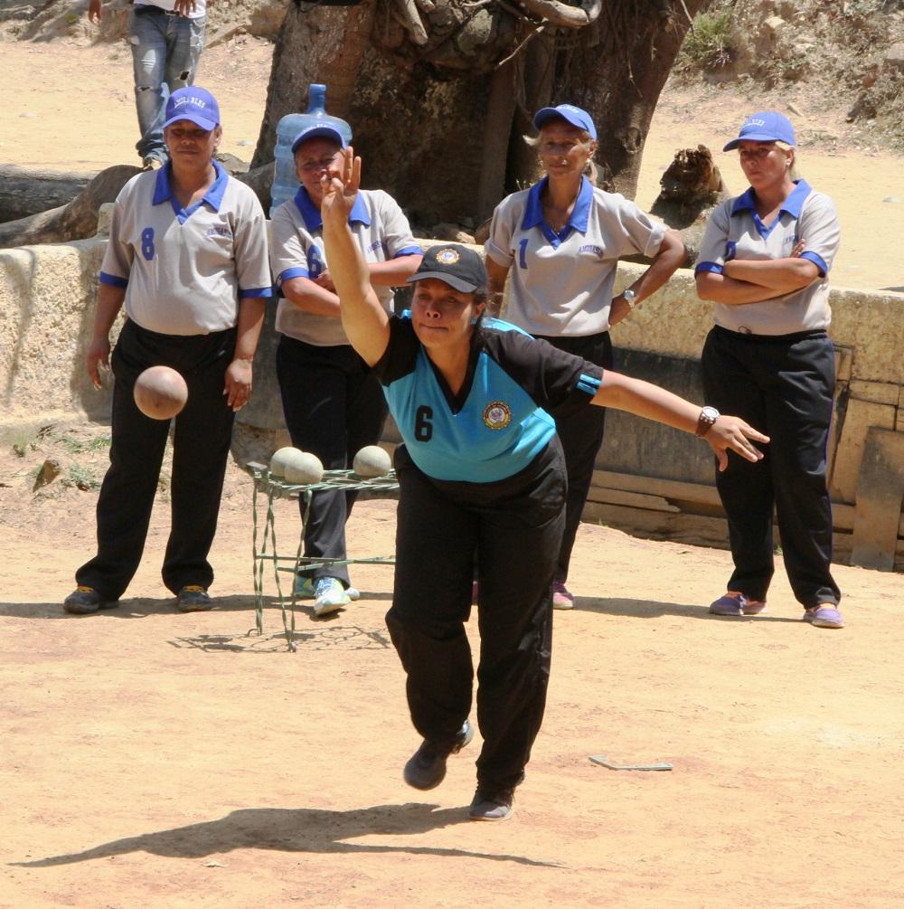Campeonato Estadal Femenino  de Bochas mañana en Los Teques