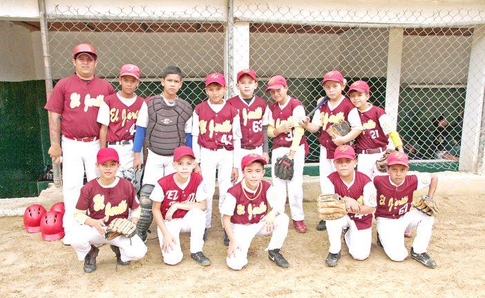 El Jarillo triunfó en béisbol infantil y preinfantil