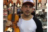 Oscarcito regalará un nuevo violín a joven músico, luego de que la #GNB se lo rompiera
