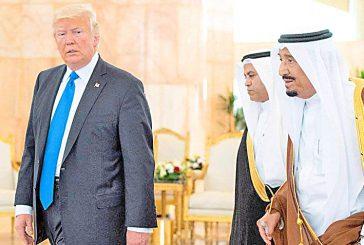 Trump inicia en Arabia Saudita su primera gira presidencial