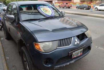 Frustran secuestro y recuperan vehículo