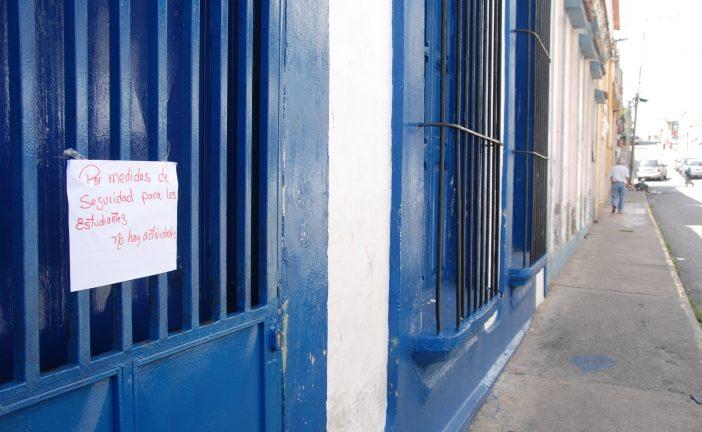 Escuelas suspenden clases por seguridad
