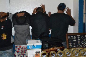 Cuatro detenidos en Carrizal por afectación en comercios