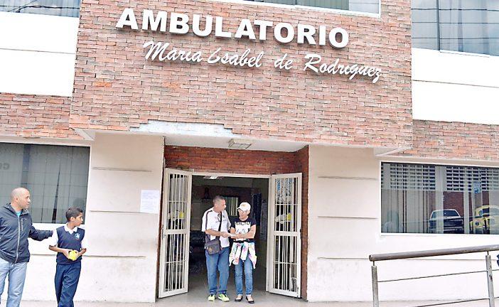 Centros de salud en Carrizal siguen activos