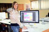 Claudia Mogollón descubrió su amor  por el diseño gráfico en Avance