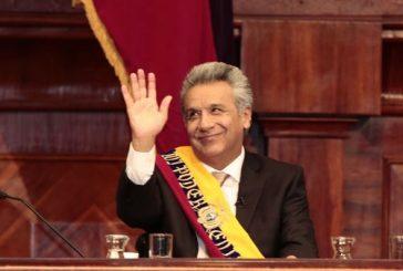 "Lenín Moreno asumió en Ecuador: ""Soy el presidente de todos, me debo a todos"""