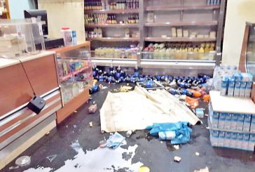 Vacían panadería y depósito de supermercado