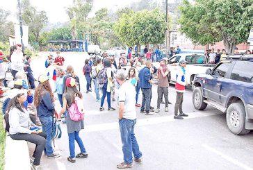 Alcalde de Los Salias insta  a mantener la protesta