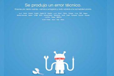 """Twitter presentó """"errores técnicos"""" y fallas generales"""